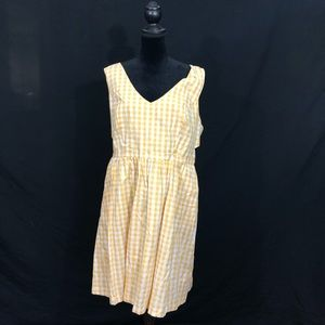 Modcloth Dresses - Yellow gingham ModCloth dress